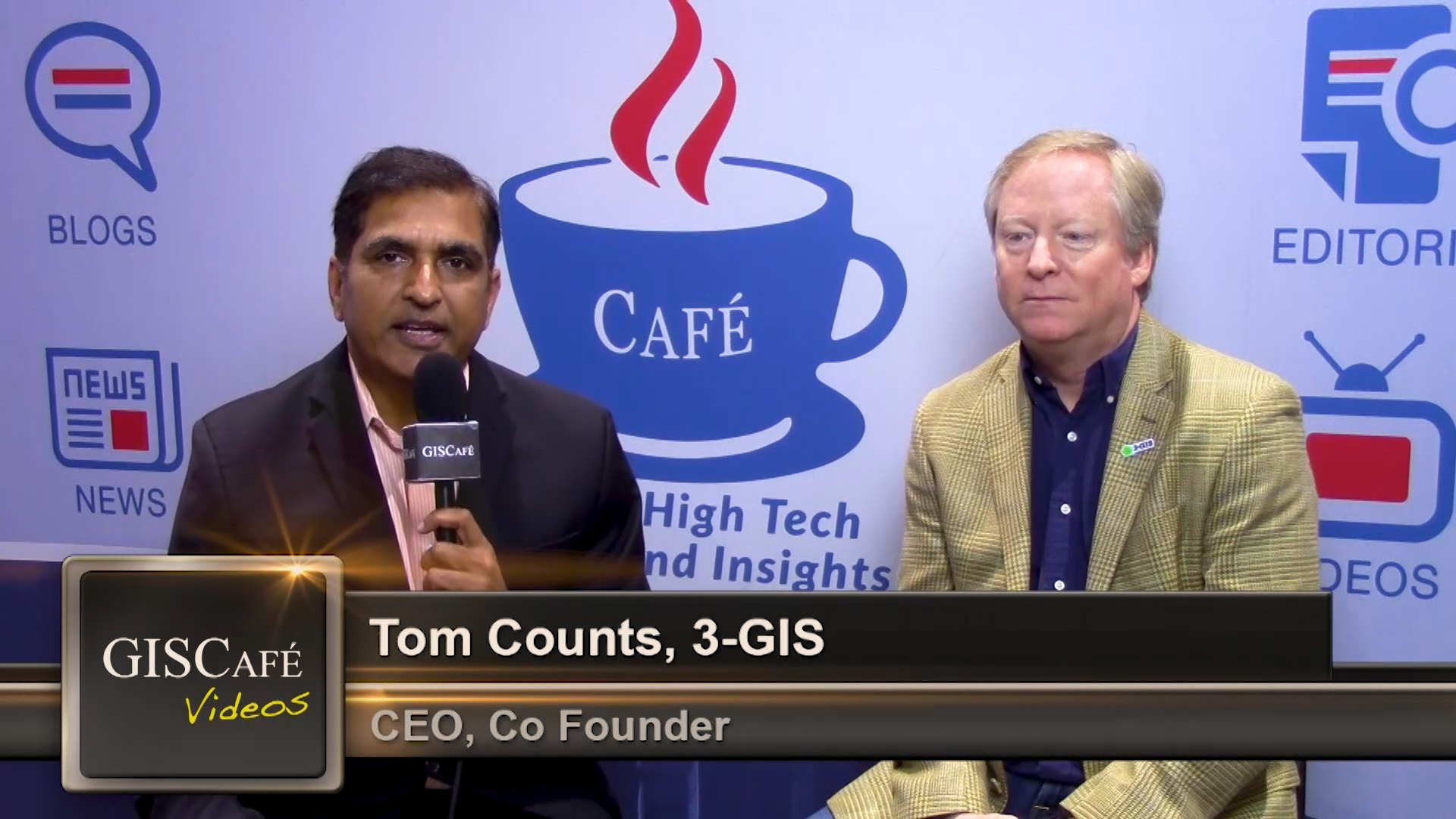 3-GIS CEO Tom Counts