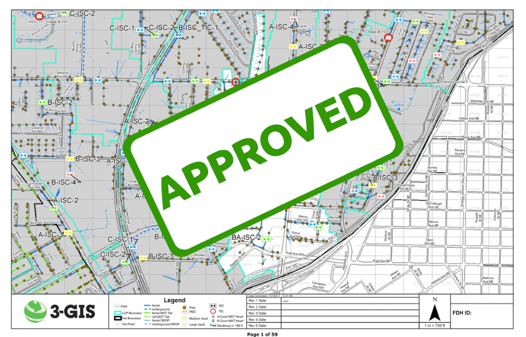3- GIS permitting document approved